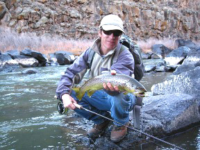 fly fishing in the pristine rivers and streams of Northern New Mexico