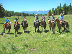 horseback riding the trails of the southern Rocky Mountains enjoying native plants and wildlife with Roadrunner Tours expert guides. Enjoy pristine wilderness, alpine meadows filled with bird song and native plants.